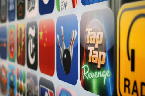 Apple iPhone Apps Screen