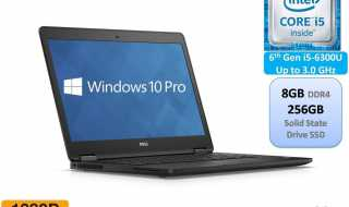 Dell Latitude Business Ultrabook Laptops for Business School