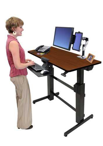 Ergotron Workfit-D Sit Stand Desk Review