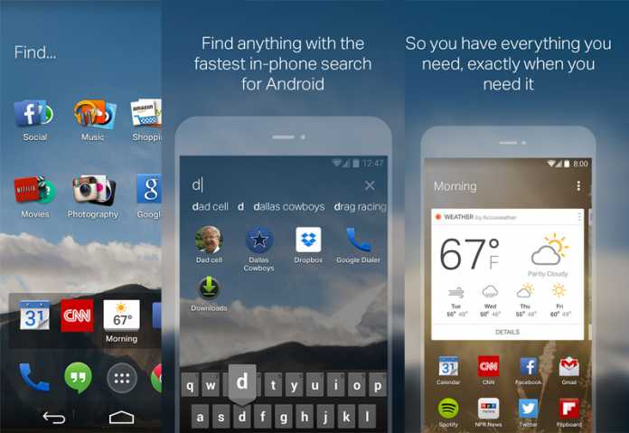 EverythingMe Android Launcher
