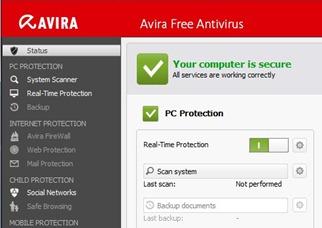 Free AntiVirus Program Avira