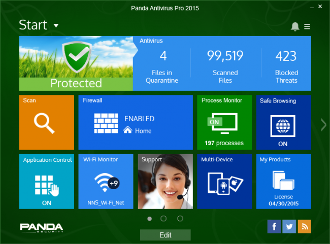 Free Antivirus Panda Antivirus review