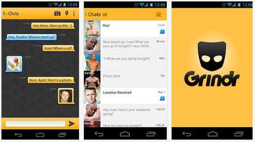 Grindr dating app 2015