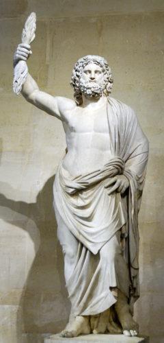 Jupiter statue