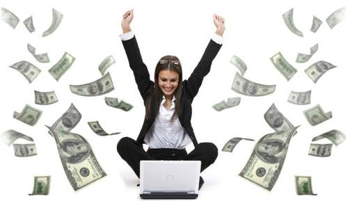 Make Money Computer Woman Online
