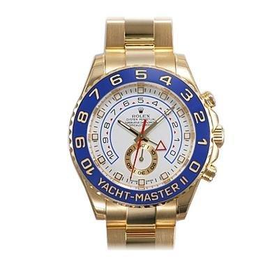 Men's 18K Gold Rolex Yachtmaster Top Watch Brands