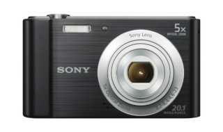 Sony W800 point and shoot camera