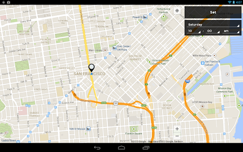 Valet android app
