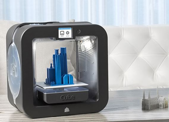 cube desktop 3D home printer