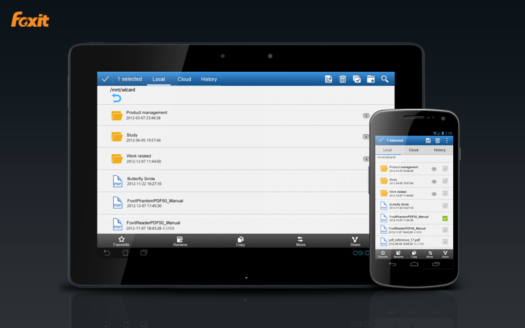foxit reader for android