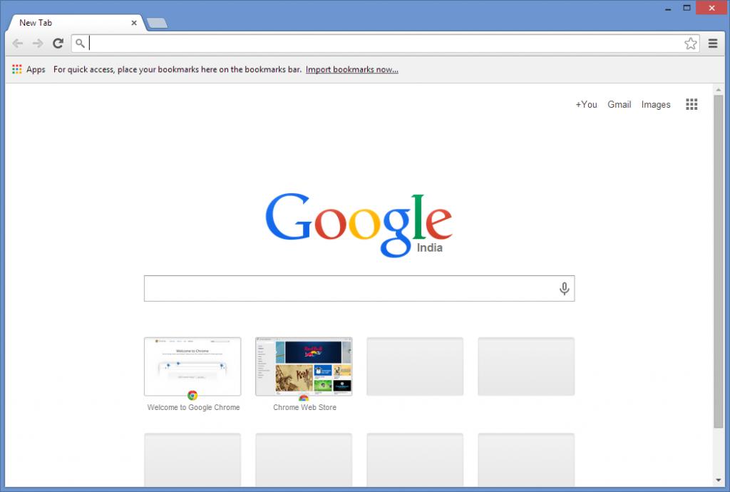 google chrome web browser