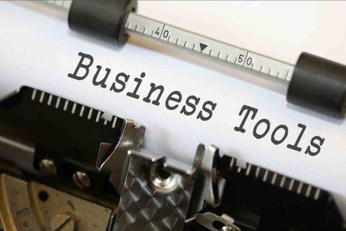 tools business typewriter